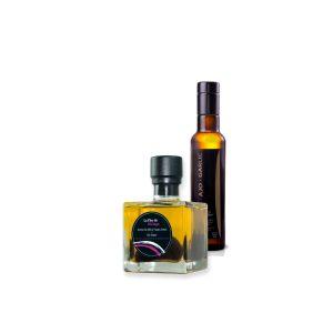 aceite de oliva sabor ajo