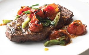 Receta san valentín bistec de ternara